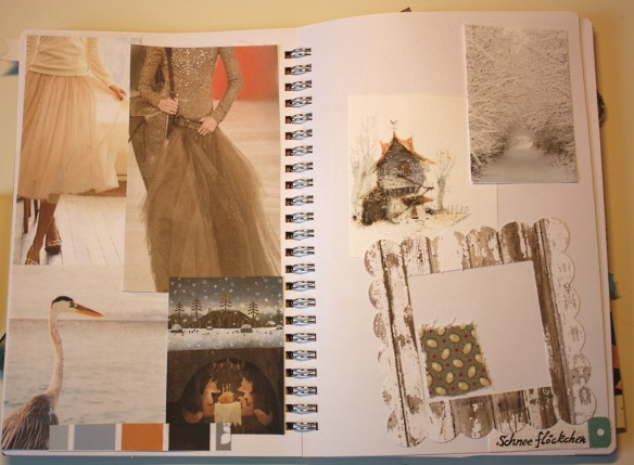 Seite im Inspirationsjournal: Winterinspiration