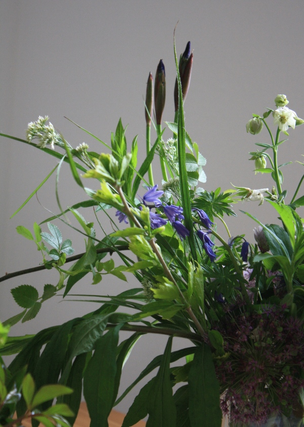 Blumenstrauß mit Iris