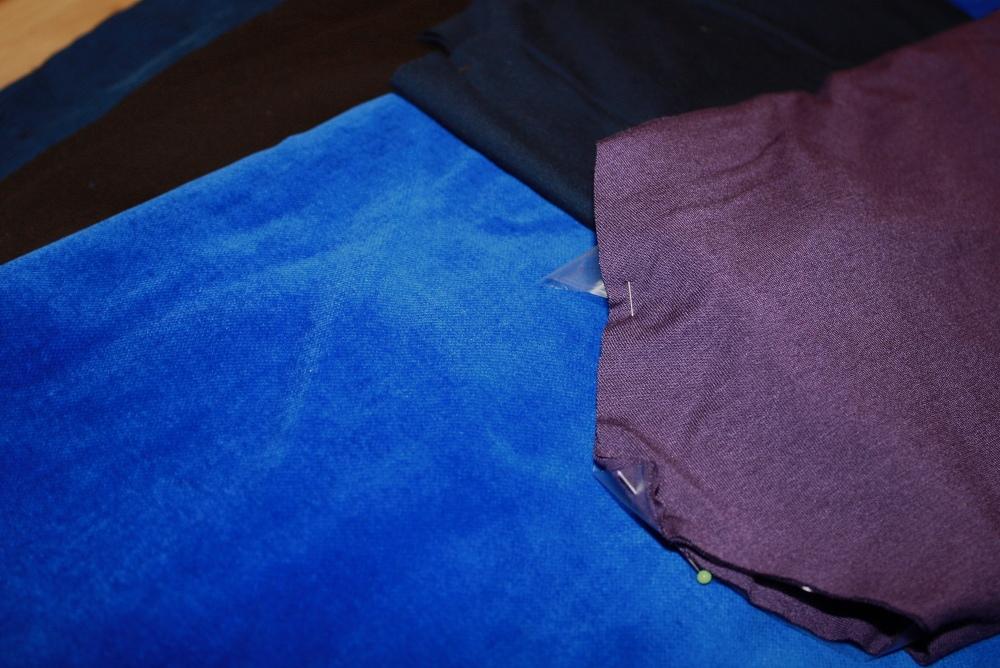Stoffstapel für Working Girl Sew Along